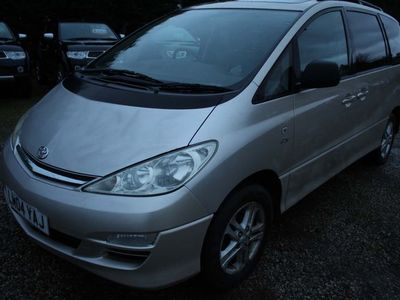 used Toyota Previa 2.0 D-4D T Spirit 5dr (7 Seats)