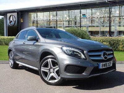 used Mercedes GLA220 GLA4Matic Amg Line 5Dr Auto [Premium]