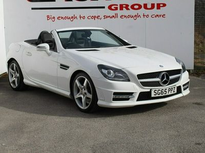 used Mercedes SLK200 Convertible [2.0] AMG Sport 2dr Tip Auto