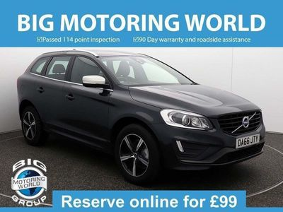 used Volvo XC60 D4 R-DESIGN LUX NAV AWD 2.4 5dr