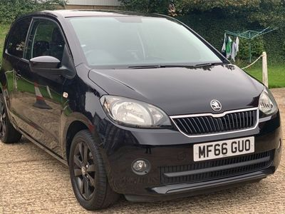 used Skoda Citigo Hatchback 1.0 MPI Black Edition 3d
