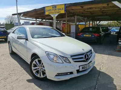 used Mercedes E250 E-Class CoupeCDI BlueEFFICIENCY SE Edition 125 (SS) 2d