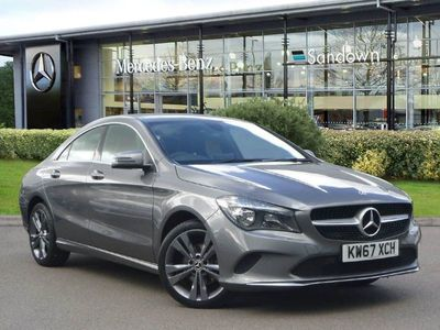 used Mercedes CLA220 CLA 2018 Slyfield Industrial EstateD SPORT