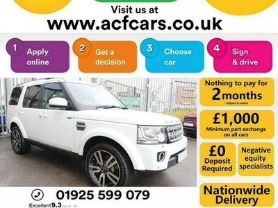 used Land Rover Discovery SDV6 HSE LUXURY - CAR FINANCE FR £88 PW Auto Estate 2014