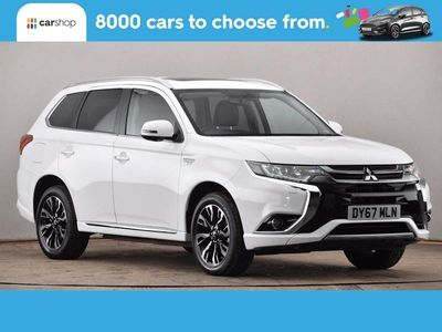 used Mitsubishi Outlander 2.0 PHEV 4h 5dr Auto Leather Seats