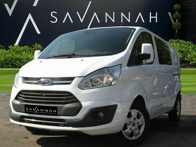 used Ford Custom Transit2.0 TDCi 290 Limited Double Cab-in-Van Auto L1 H1 6dr (EU6)