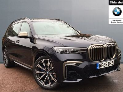 used BMW X7 xDrive M50d 5dr Step Auto Estate 2019