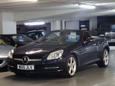 used Mercedes SLK250 SLK 2.1CDI BlueEFFICIENCY 7G-Tronic Plus (s/s) 2dr
