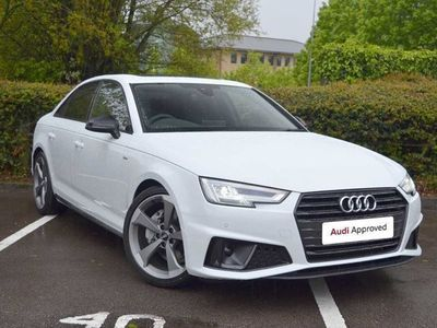 used Audi A4 Black Edition 40 TDI 190 PS S tronic