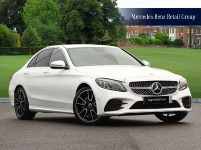 used Mercedes C220 C-Classd AMG Line Edition Saloon 2.0 4dr