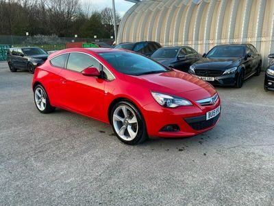 used Vauxhall Astra GTC Coupe 1.4T 16V (140bhp) SRi 3d