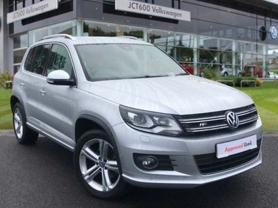 used VW Tiguan 2.0 TDi BlueMotion Tech R Line Edition 184 5dr DSG diesel estate