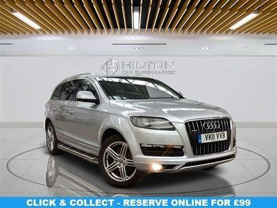 used Audi Q7 3.0 TDI QUATTRO SE 5d 240 BHP