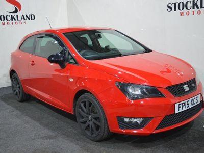 used Seat Ibiza 1.2 TSI FR Black 3dr