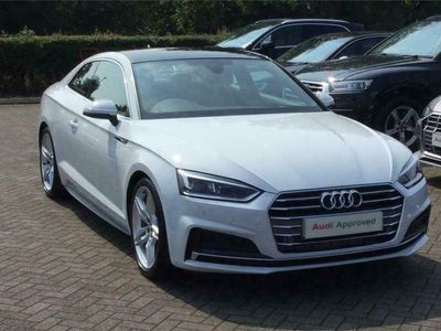 used Audi A5 COUPE 40 TFSI S Line 2dr S Tronic [Tech Pack]