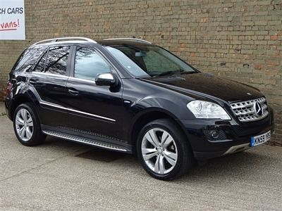 used Mercedes ML350 M Class 3.0CDI BlueEFFICIENCY Sport 7G-Tronic 5dr