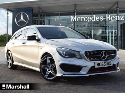 used Mercedes CLA250 CLA ClassEngineered by AMG 4Matic 5dr Tip Auto Estate 2015