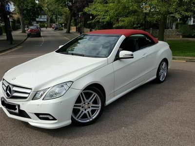 used Mercedes E220 E Class 2.1CDI BlueEFFICIENCY Sport Edition 125 Cabriolet 7G-Tronic Plus (s/s) 2dr