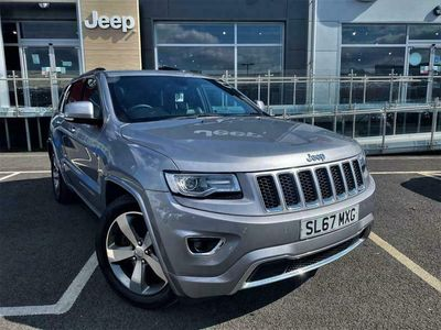 used Jeep Grand Cherokee 3.0 CRD Overland Auto 4WD (s/s) 5dr