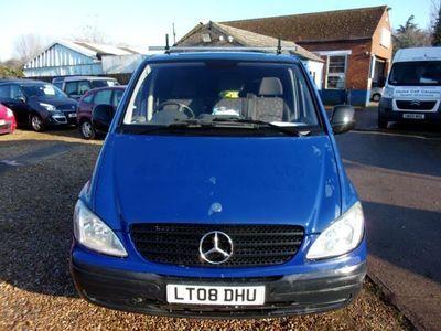 used Mercedes Vito 115CDI Van, 2008, Van, 113000 miles.