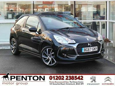 used DS Automobiles DS3 Cabriolet 1.2 PureTech Connected Chic (s/s) 2dr