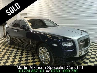 used Rolls Royce Ghost 4dr Auto ~ SOLD ~