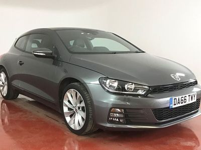 used VW Scirocco 2.0 TSI 180 BlueMotion Tech GT 3dr [HOLDCROFT HAND PICKED USED CARS] Manu