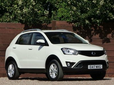 used Ssangyong Korando 2.2 SE 5d 176 BHP 7 YEARS WARRANTY