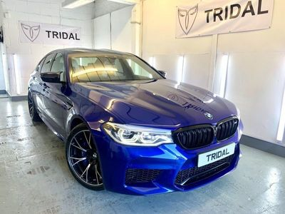 used BMW M5 4.4i V8 Competition Steptronic xDrive (s/s) 4dr