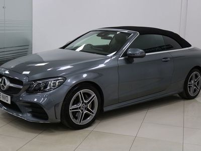 used Mercedes C200 C Class 1.5EQ Boost AMG Line (Premium) Cabriolet G-Tronic+ (s/s) 2dr