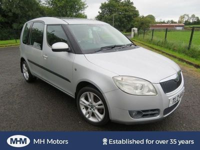 used Skoda Roomster 3 1.4 5 Dr MOT DECEMBER 2 OWNERS FROM NEW