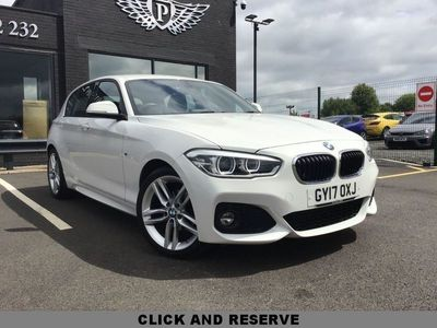 used BMW 118 1 SERIES 2.0 D M SPORT 5d 147 BHP JUST ARRIVED AWAITING