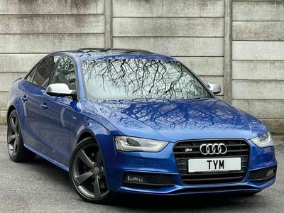 used Audi S4 3.0QUATTRO 4d 328 BHP BLACK PACK + PAN ROOF + B&O