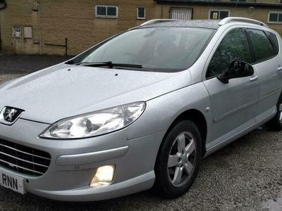 used Peugeot 407 SW Estate 2.0 HDI (140bhp) Sport 5d