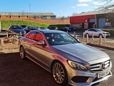 used Mercedes C250 C Class 2.1AMG Line 7G-Tronic+ (s/s) 4dr
