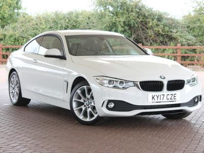 used BMW 420 4 Series d [190] xDrive SE 2dr Auto [Business Media] Coupe diesel coupe