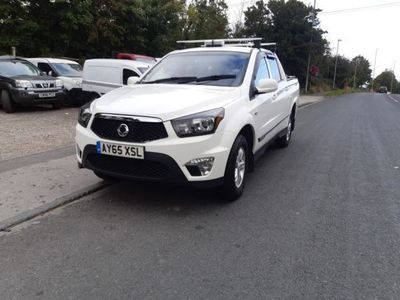 used Ssangyong Korando Pick Up SX 5dr 4WD, 2015, not known, 52000 miles.