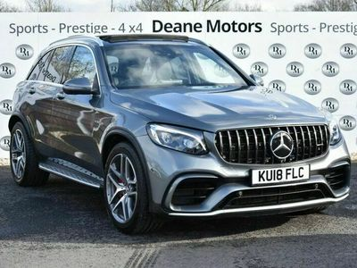 used Mercedes GLC63 AMG Glc-Class 4.0 AMGS 4MATIC PREMIUM 5d 503 BHP EXTENDED MERCEDES WARRANTY
