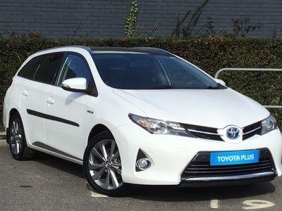 used Toyota Auris 1.8 VVTi Hybrid Excel 5-Dr CVT Auto [Nav/Pan Rf]