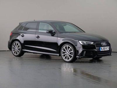 used Audi A3 Sportback 1.0 TFSi 116 S-Line Black Edition Nav 5dr