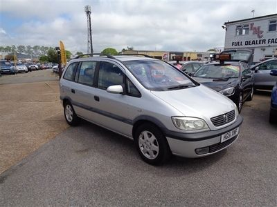 used Vauxhall Zafira 1.8 Elegance