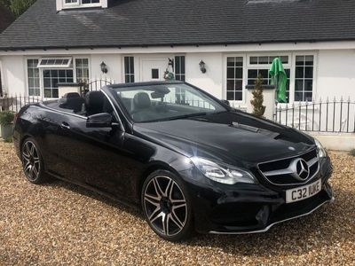used Mercedes E200 E Class 2.0AMG Sport Cabriolet 7G-Tronic Plus 2dr