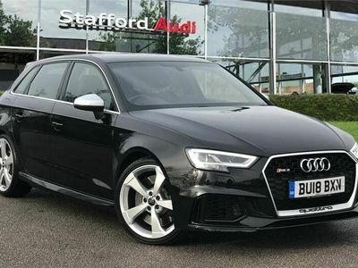 used Audi RS3 RS3 2.5 TFSIQuattro 5dr S Tronic
