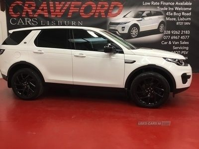 used Land Rover Discovery Sport PURE ED4
