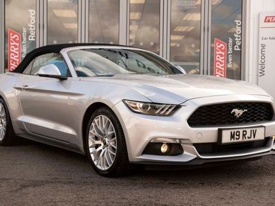 used Ford Mustang 2.3 EcoBoost Convertible 6Spd Auto