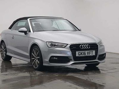 used Audi A3 Cabriolet S line Navigation 2.0 TDI quattro 184 PS S tronic