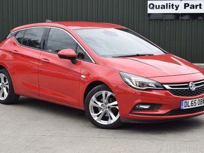 used Vauxhall Astra 1.4i Turbo SRi Nav 5dr