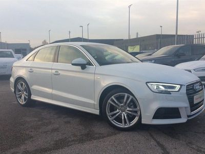 used Audi A3 DIESEL SALOON 30 TDI 116 S Line 4dr S Tronic