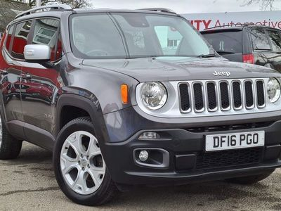 used Jeep Renegade 1.4T MultiAirII Limited Auto 4WD (s/s) 5dr