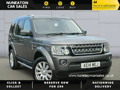 used Land Rover Discovery 4 3.0TD GS